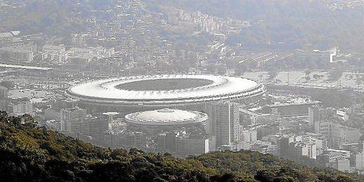 Maracaná, sede de la final de Brasil 2014.