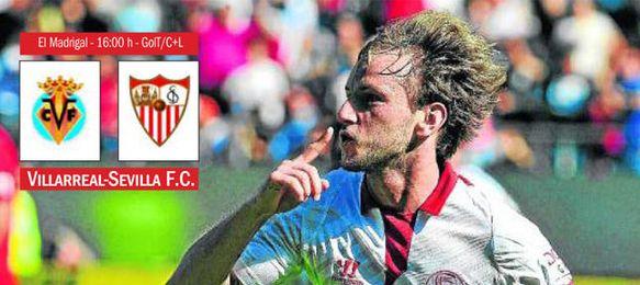Villarreal - Sevilla F.C.: Rakitic llega al rescate