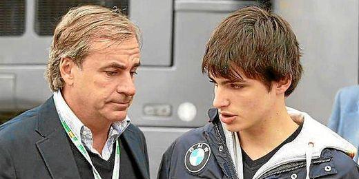 Carlos Sáinz confía en el futuro deportivo de su hijo.