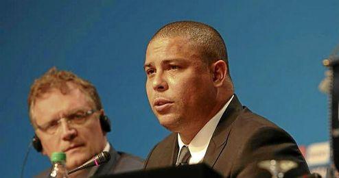 Ronaldo, exjugador del Real Madrid.