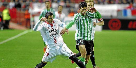 Lance del Sevilla-Betis