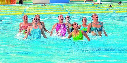 La natación sincronizada tendrá su espacio entre las actividades.