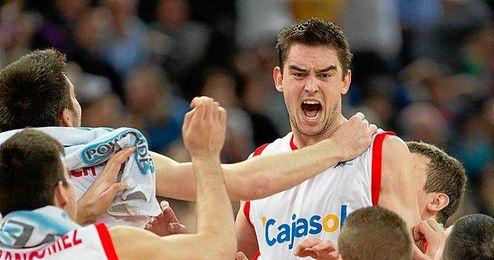 Satoransky dio la victoria en Bilbao.