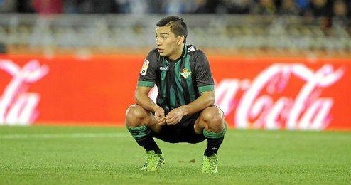 Lolo Reyes, un fijo para Calderón, no estará ante el Elche.