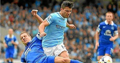 Manchester City delantero, Sergio Agüero