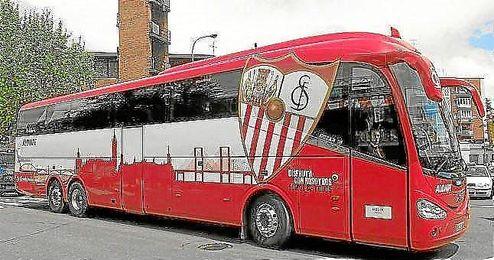 Imagen de archivo del bus del Sevilla F.C.