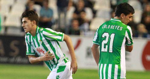 Dani Ceballos ya debutó con el Betis frente a la Real Sociedad.