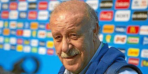 El seleccionador se siente muy orgulloso del fútbol español.