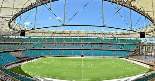 El estadio Arena Fonte Nova, de la ciudad de Salvador, será sede del España-Holanda.