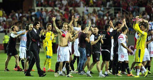 Tras ganar al Elche, los jugadores del Sevilla viajarán a Asia para disputar dos amistosos.