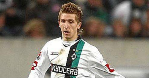 Marin, en su etapa en el Borussia de Monchengladbach.