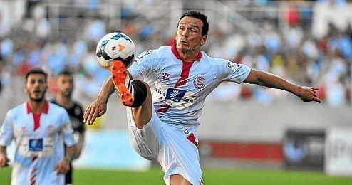 Trochowski, en un partido ante el Espanyol.
