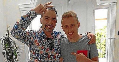 Modric ha dicho adiós a su pelo largo, ahora luce así.