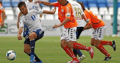 Partido entre Recreativo de Huelva y Deportivo Alavés disputado el pasado 20 de abril.
