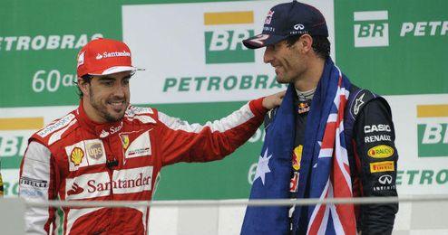 Fernando Alonso se reencontrará en Le Mans con su gran amigo Mark Webber.