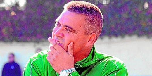 Andrés Castellano `Rarra´, durante la disputa de un duelo esta campaña.