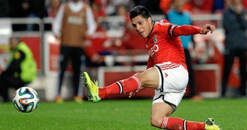 Enzo Pérez renueva con el Benfica hasta 2018.