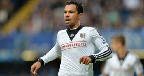 Richardson en un partido con el Fulham.