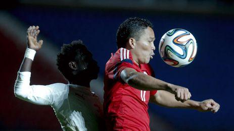Bacca no fue esta vez titular con Colombia.