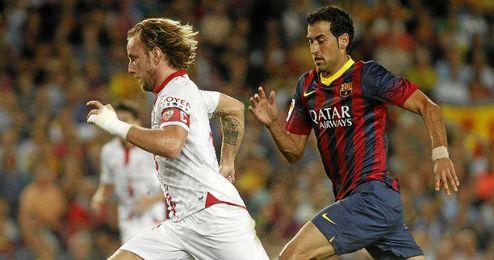 Rakitic jugará en el Barcelona la próxima temporada.