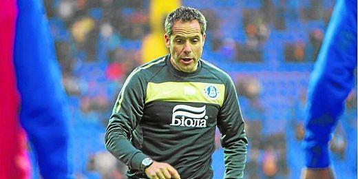 Preparador físico y mano derecha de Juande, Marcos Álvarez ha trabajado cuatro temporadas para el Dnipro.