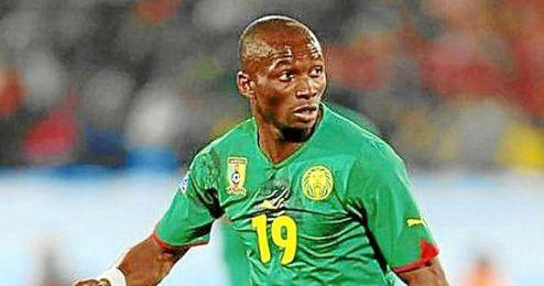 M´Bia no jugó con Camerún ante Moldavia.