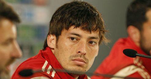 Silva compareció en sala de prensa.