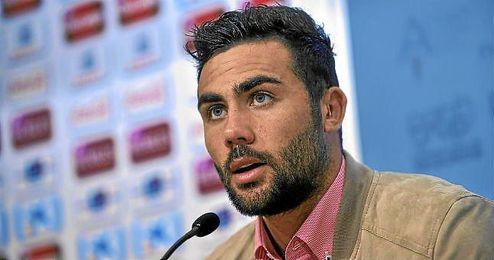 Vicente Iborra, durante una rueda de prensa.