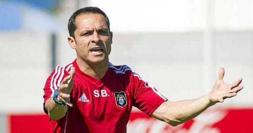 Sergi deja de ser entrenador del Recreativo de Huelva.
