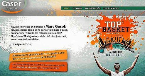 Los niños que quieran podrán apuntarse al evento en el pabellón de San Pablo en www.marcgasolensevilla.com.