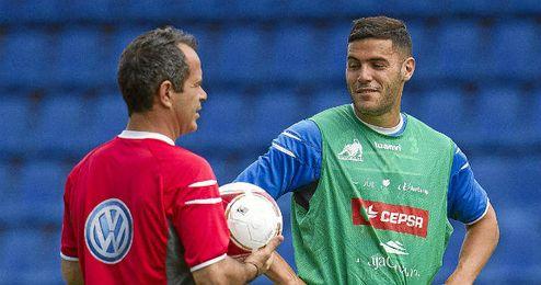 Bruno (a la derecha) no tiene oferta ninguna del Betis.