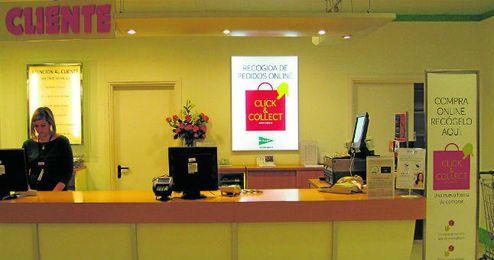 La nueva iniciativa del grupo español está teniendo una gran aceptación por parte de los clientes del gran almacén.