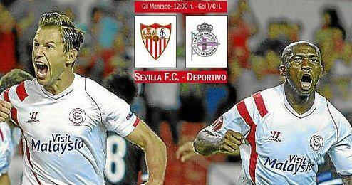 Sevilla-Deportivo: Oportunidad de oro para disipar dudas