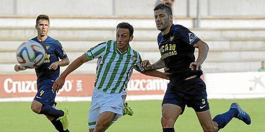El Betis B perdió contra el UCAM Murcia.