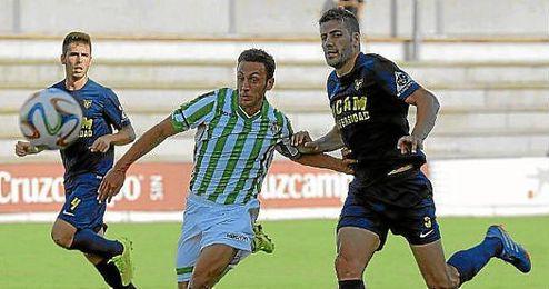 El Betis B se quedó sin marcar ante el UCAM Murcia.