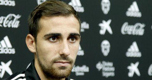 Alcácer es uno de los referentes ofensivos del Valencia.