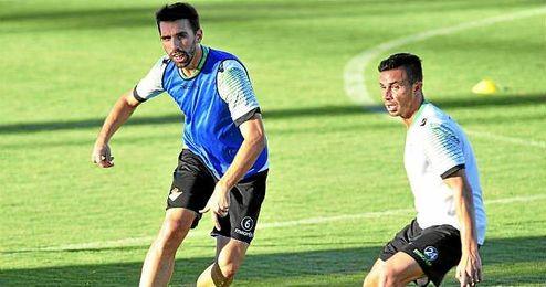 Jordi Figueras, durante un entrenamiento.