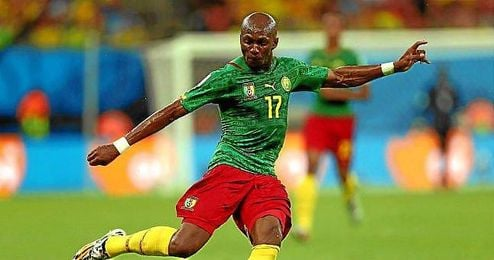 M´Bia jugará con Camerún dos partidos ante Sierra Leona, aunque se disputarán en Yaoundé.