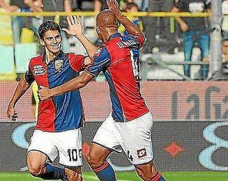Perotti se estrenó como goleador ante el Parma.