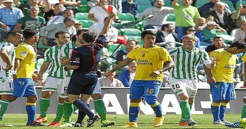 Perquis, expulsado ante Las Palmas.