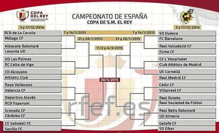 Sabadell-Sevilla F.C. y Real Betis-Almería, en dieciseisavos de Copa