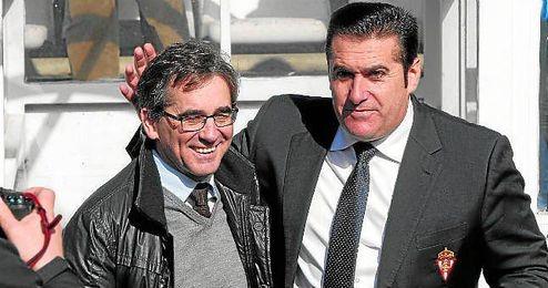 Fernando Vázquez y José Ramón Sandoval, dos de los nombres que se asocian de manera recurrente con el Betis.