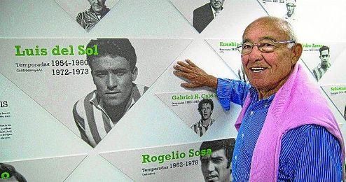 Luis del Sol marcó una época en el Betis y posteriormente jugó en Real Madrid, Juventus y Roma.
