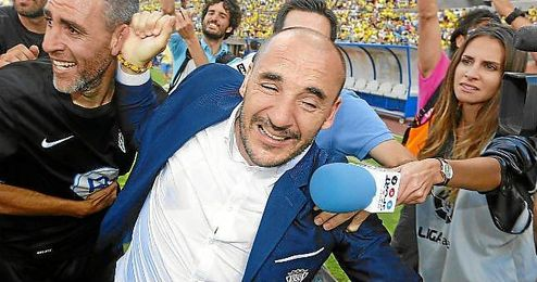 Ferrer el día del ascenso del Córdoba.