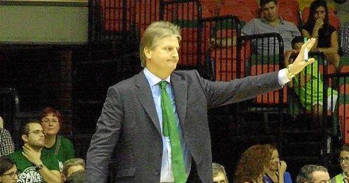 Scott Roth durante el partido ante el Spirou.