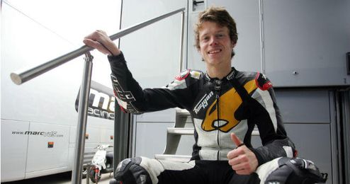El piloto español de Moto2, ´Tito´ Rabat.
