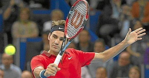 Roger Federer se ha impuesto en Basilea a David Goffin.