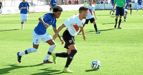 Imagen de archivo de un partido del Sevilla Atlético esta temporada.