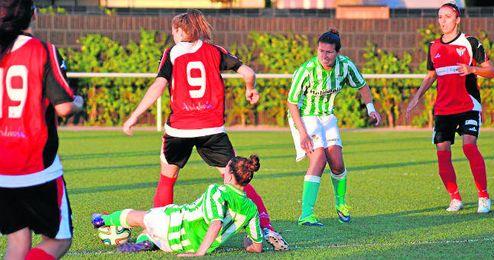 El pasado verano Betis y Sporting de Huelva jugaron un amistoso, con victoria para las onubenses por 3-1.