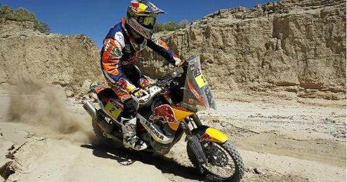 Marc Coma durante el último Dakar